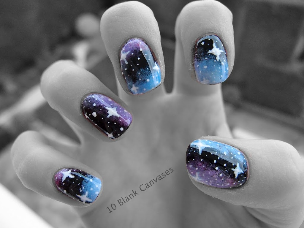 How To Paint Stars On Nails | Best Nail Designs 2018