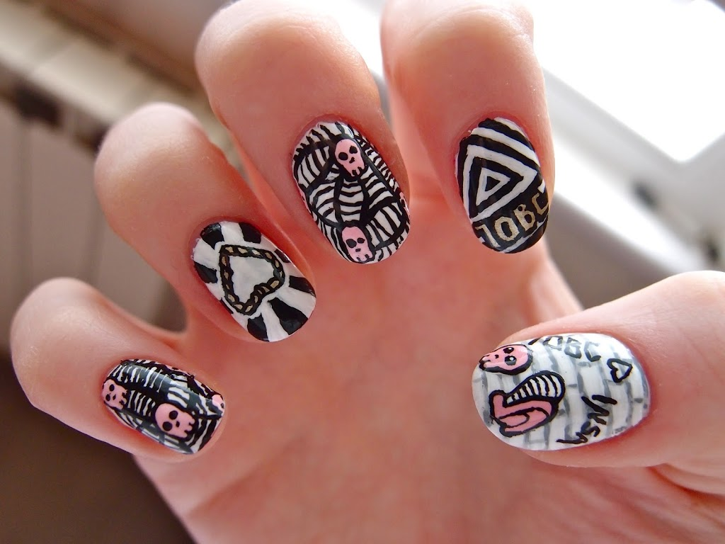 Insa Nail Art competition   10 Blank Canvases