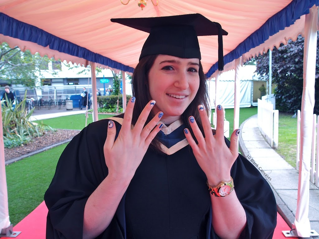 - Graduation Nails 10 Blank Canvases