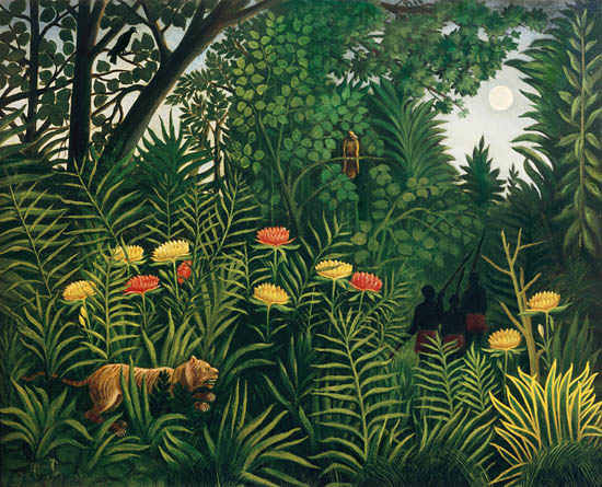 Henri Rousseau Jungle Nails 10 Blank Canvases