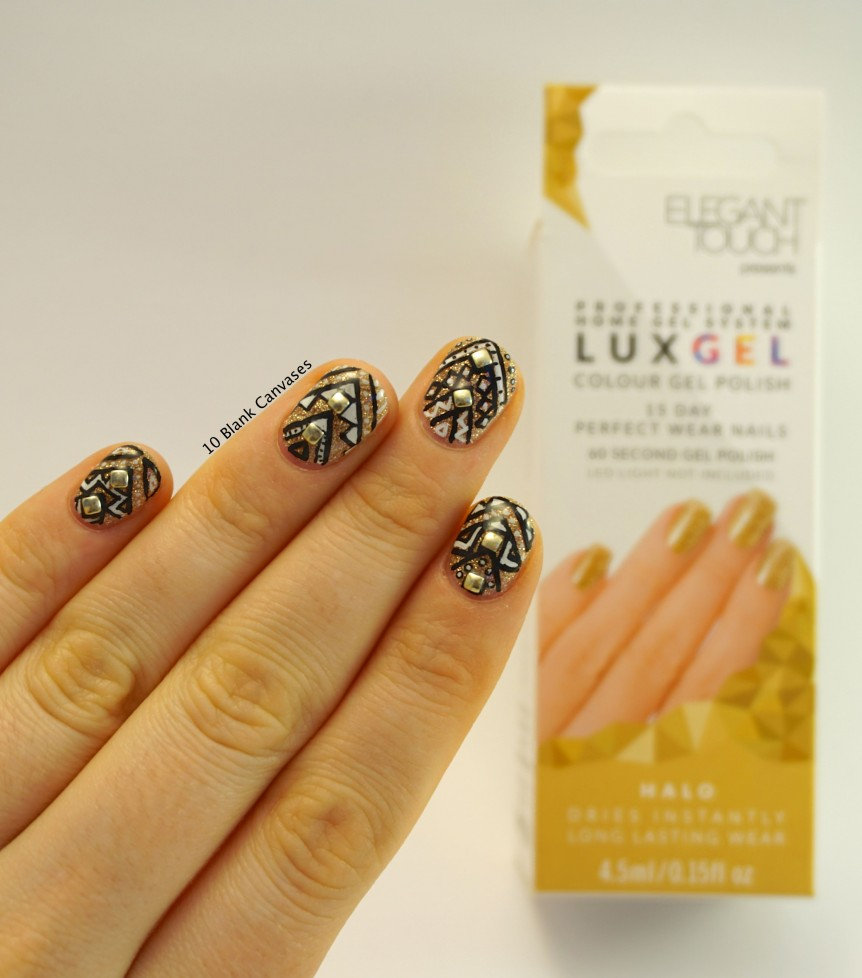Lux Gel Nails | 10 Blank Canvases