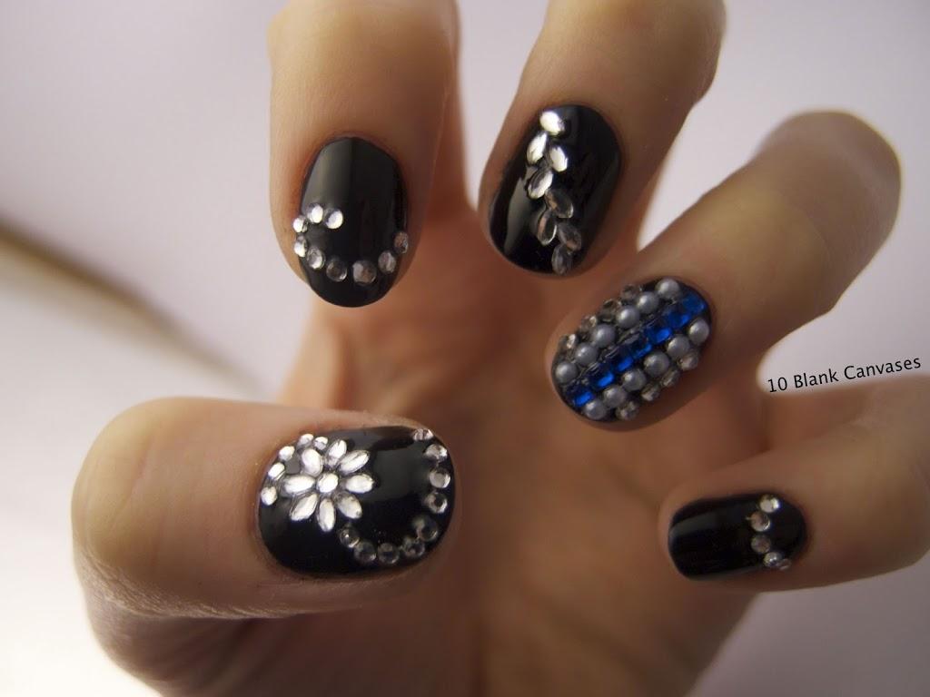 Jewel Nail Art Designs - Best Nails Art Ideas